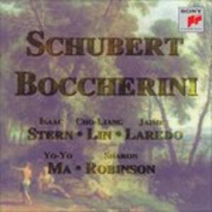 Quintetti per archi - CD Audio di Luigi Boccherini,Franz Schubert,Yo-Yo Ma