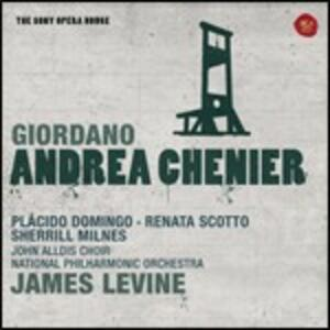 Andrea Chénier - CD Audio di Placido Domingo,Renata Scotto,Sherrill Milnes,Maria Ewing,Umberto Giordano,James Levine,National Philharmonic Orchestra