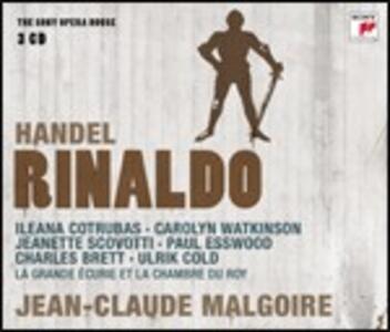Rinaldo - CD Audio di Jean-Claude Malgoire,Ileana Cotrubas,Paul Esswood,Georg Friedrich Händel
