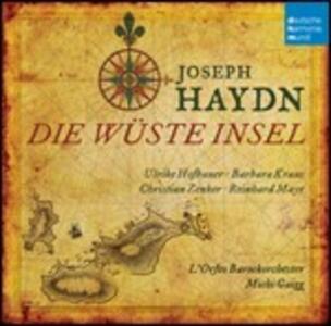 L'isola disabitata (Die wüste Insel) - CD Audio di Franz Joseph Haydn,L' Orfeo Barockorchester,Michi Gaigg