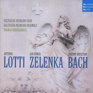 Bach Lotti Zelenka - CD Audio di Thomas Hengelbrock