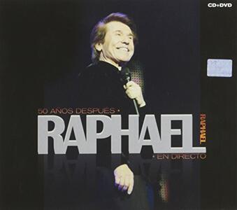 50 Anos Despues - CD Audio + DVD di Raphael