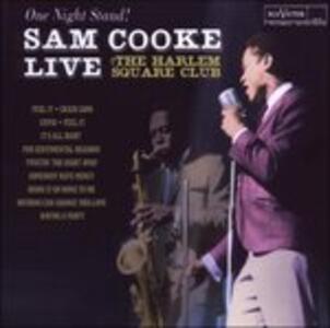 One Night Stand. Live at - CD Audio di Sam Cooke