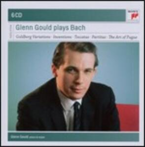 L'arte della fuga (Die Kunst der Fugue) - Variazioni Goldberg - Partite - Toccate - Invenzioni - CD Audio di Johann Sebastian Bach,Glenn Gould