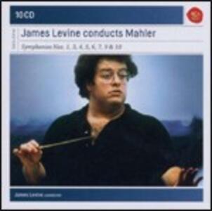 Sinfonie n.1, n.3, n.4, n.5, n.6, n.7, n.9, n.10 - CD Audio di Gustav Mahler,James Levine,London Symphony Orchestra