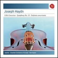 Concerti per violoncello n.1, n.2 - Sinfonia n.13 - Sinfonia concertante - CD Audio di Franz Joseph Haydn,Steven Isserlis,Roger Norrington,Chamber Orchestra of Europe