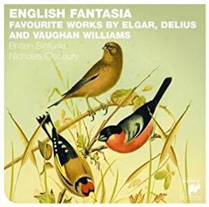 Fantasia inglese (English Fantasia) - CD Audio di Edward Elgar,Ralph Vaughan Williams,Frederick Delius,Britten Sinfonia,Nicholas Cleobury