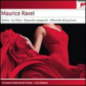 Bolero - Alborada del gracioso - La valse - Pavane pour une Infante defunte - Rapsodia spagnola - CD Audio di Maurice Ravel,Lorin Maazel,Orchestre de Paris
