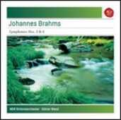 CD Sinfonie n.3, n.4 Johannes Brahms Günter Wand NDR Symphony Orchestra