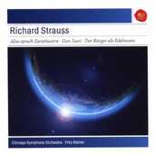 CD Also Sprach Zarathustra - Don Juan - Le Bourgeois Gentilhomme - Suite op.60 Richard Strauss Fritz Reiner Chicago Symphony Orchestra