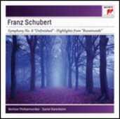 CD Sinfonia n.8 - Rosamunde Franz Schubert Daniel Barenboim Berliner Philharmoniker