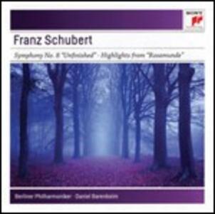 Sinfonia n.8 - Rosamunde - CD Audio di Franz Schubert,Daniel Barenboim,Berliner Philharmoniker