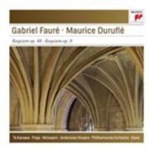 Requiem op.48 / Requiem op.9 - CD Audio di Gabriel Fauré,Maurice Duruflé,Andrew Davis,Philharmonia Orchestra