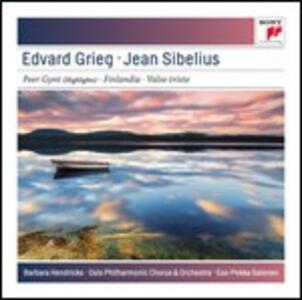 Peer Gynt / Finlandia - Valse triste - CD Audio di Edvard Grieg,Jean Sibelius,Barbara Hendricks,Esa-Pekka Salonen,Oslo Philharmonic Orchestra