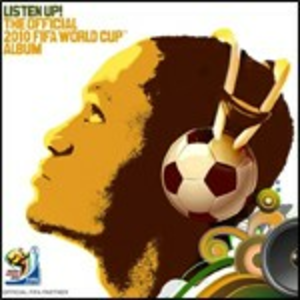 CD Listen Up! The Official 2010 FIFA World Cup Album