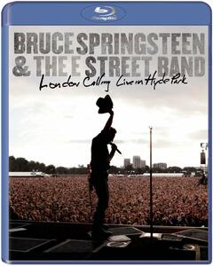 Bruce Springsteen & the E Street Band. London Calling: Live In Hyde Park di Thom Zimny,Chris Hilson - Blu-ray