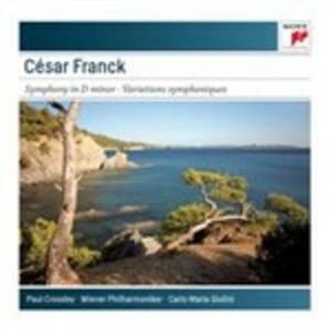 Sinfonia in Re minore - Variazioni sinfoniche - CD Audio di César Franck,Carlo Maria Giulini,Wiener Philharmoniker