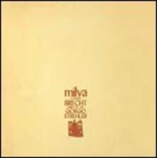 Milva canta Brecht - CD Audio di Milva