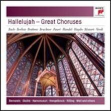 Hallelujah. Grandi cori - CD Audio