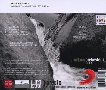 Sinfonia n.0 - CD Audio di Anton Bruckner - 2