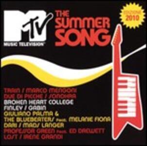 MTV Summer Song 2010 - CD Audio