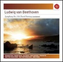 Sinfonia n.9 - Fantasia corale - CD Audio di Ludwig van Beethoven,Zubin Mehta,New York Philharmonic Orchestra