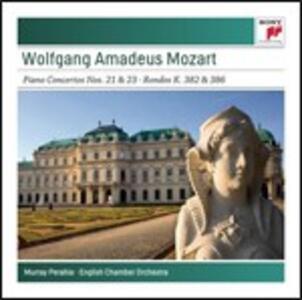 Concerti per pianoforte n.21, n.23 - CD Audio di Wolfgang Amadeus Mozart,Murray Perahia,English Chamber Orchestra