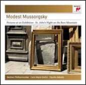 CD Quadri di un'esposizione (Pictures at an Exhibition) - Una notte sul Monte Calvo Modest Petrovich Mussorgsky Carlo Maria Giulini Claudio Abbado