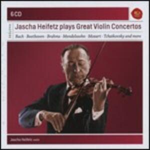 I grandi concerti per violino - CD Audio di Jascha Heifetz