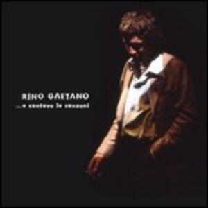 ...e cantavo le canzoni - CD Audio di Rino Gaetano