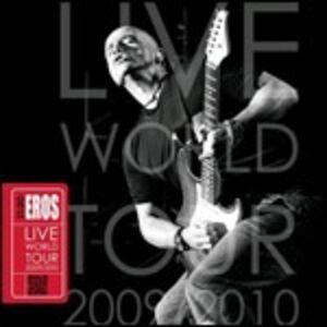 Foto Cover di 21:00 Eros Live World Tour 2009/2010, CD di Eros Ramazzotti, prodotto da Sony Music