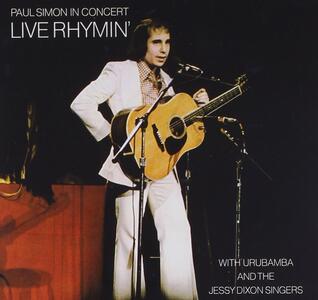 In Concert. Live Rhymin' - CD Audio di Paul Simon
