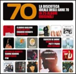 La discoteca ideale degli anni 70 in 25 album originali - CD Audio