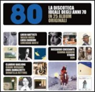 La discoteca ideale degli anni 80 in 25 album originali - CD Audio