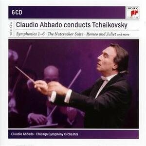 Sinfonie complete - Musica orchestrale - CD Audio di Pyotr Il'yich Tchaikovsky,Claudio Abbado,Chicago Symphony Orchestra