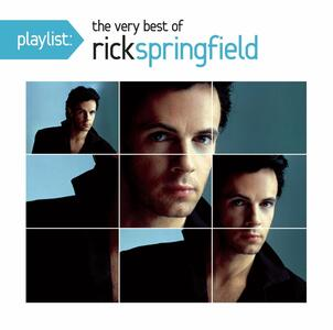 Playlist. The Very Best of Rick Springfield - CD Audio di Rick Springfield