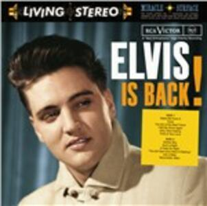 Elvis Is Back - CD Audio di Elvis Presley