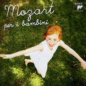 CD Mozart per i bambini Wolfgang Amadeus Mozart