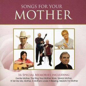 Songs for My Mother - CD Audio