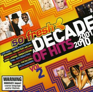 So Fresh.decade of Hits - CD Audio