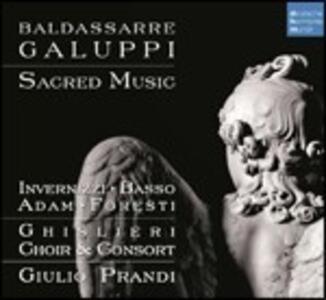 Musica sacra - CD Audio di Baldassarre Galuppi,Giulio Prandi,Ghislieri Choir & Consort