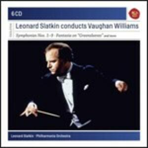 Musica orchestrale - CD Audio di Ralph Vaughan Williams,Leonard Slatkin,Philharmonia Orchestra