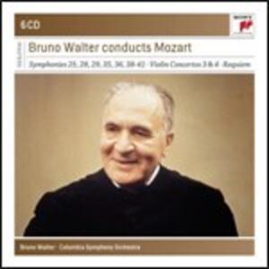 Sinfonie n.28, n.29, n.25, n.35, n.36, n.38, n.39, n.40, n.41 - Eine Kleine Nachtmusik - Requiem - Ouvertures - CD Audio di Wolfgang Amadeus Mozart,Bruno Walter,Columbia Symphony Orchestra