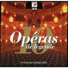 10 Operas de Legende. Versions Integrales - CD Audio