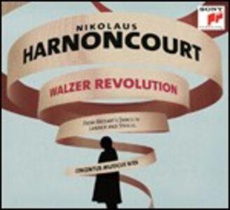 Foto Cover di Walzer Revolution, CD di Nikolaus Harnoncourt,Concentus Musicus Wien, prodotto da Sony Classical