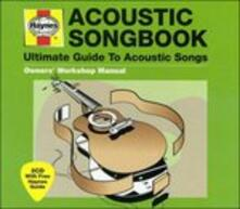 Acoustic Songbook - CD Audio