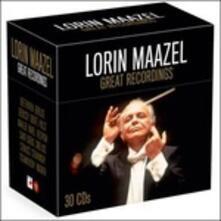Great Recordings - CD Audio di Lorin Maazel