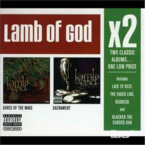 X2.ashes of The - CD Audio di Lamb of God