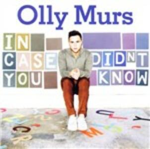 In Case You Didn't Know - CD Audio di Olly Murs