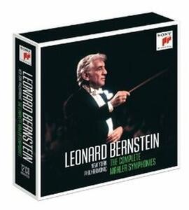 Sinfonie complete - CD Audio di Leonard Bernstein,Gustav Mahler,New York Philharmonic Orchestra